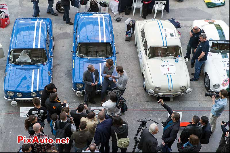Tour Auto, Interview Jean Ragnotti R8 Gordini