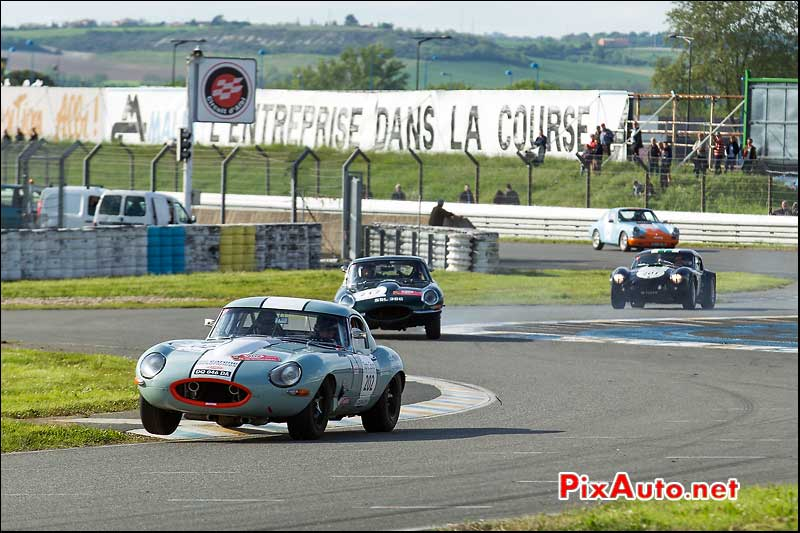 Tour Auto, Circuit Le Sequestre, Jaguar Type-E N°202