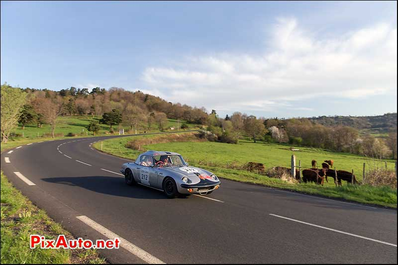 Tour Auto, route Cantal, Lotus Elan N°212
