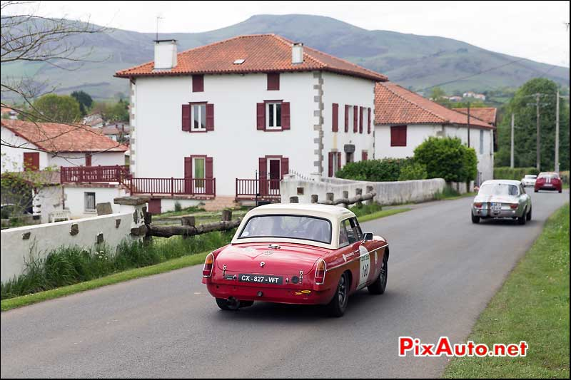 Tour Auto, Pays Basque, MG-B N°160