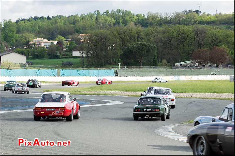 Tour Auto, Plateau 4, circuit Albi, Le Sequestre