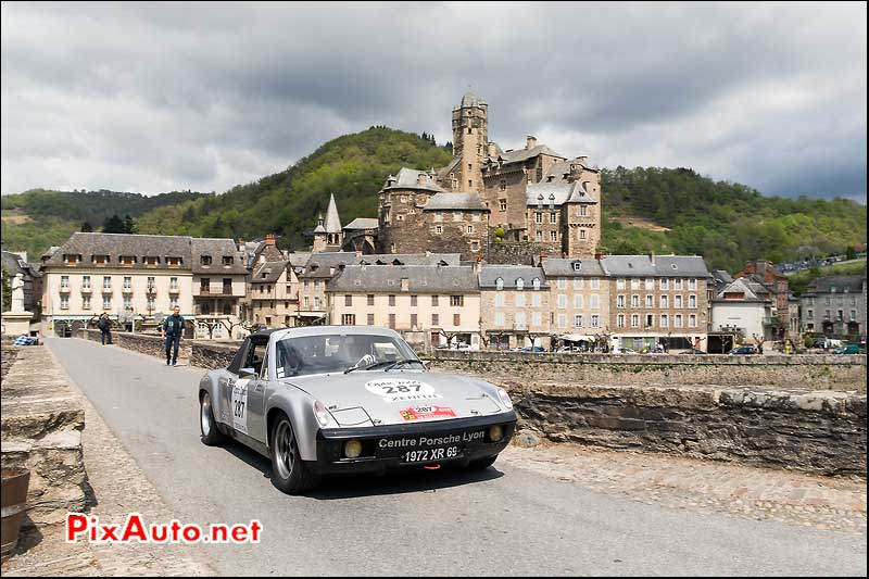 Tour Auto, Chateau Estaing, Porsche 914 N°287