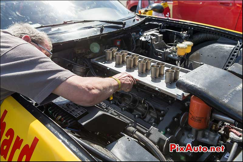Tour Auto, Reglage Carburateurs V12 Ferrari Daytona