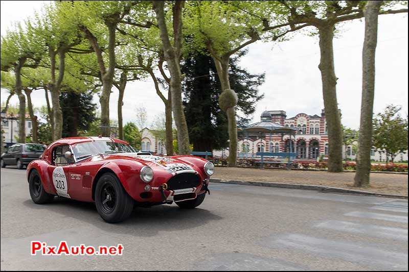Tour Auto, Salie de Bearn, Shelby Cobra N°203