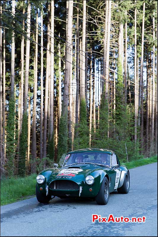 Tour Auto, Shelby Cobra 289ci N°207
