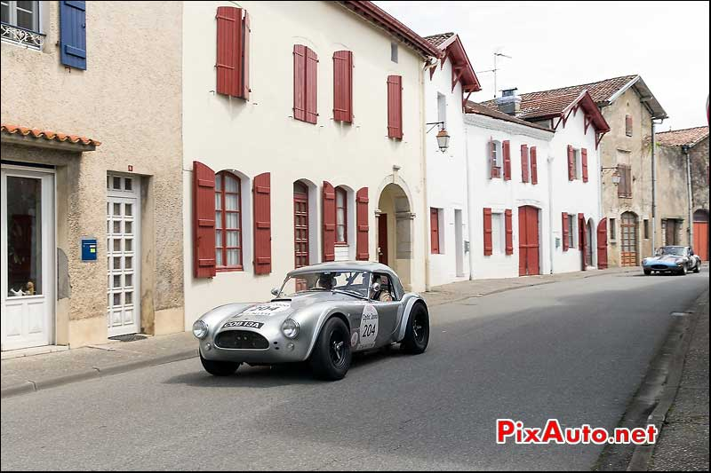 Tour Auto au  Pays Basque, Shelby Cobra 289ci