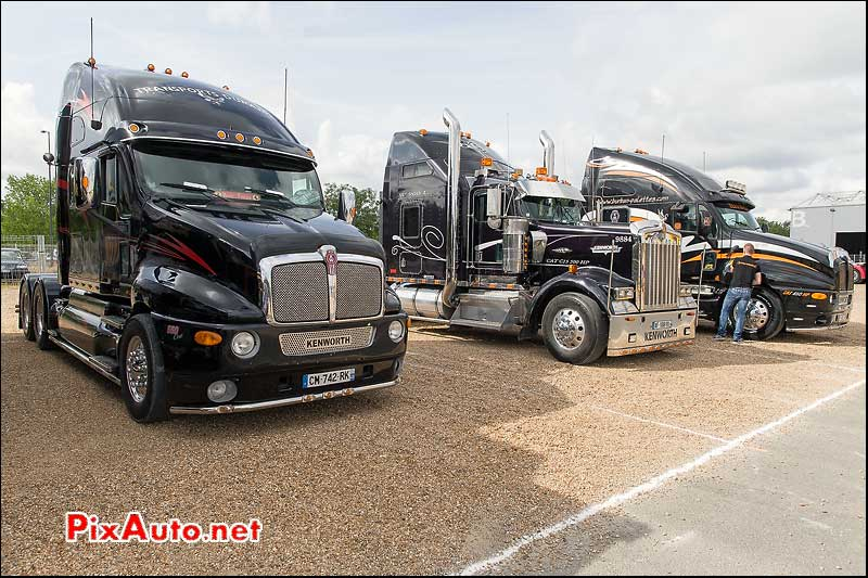 Tours-Motor-Show-2015, American Truck Kenworth Black