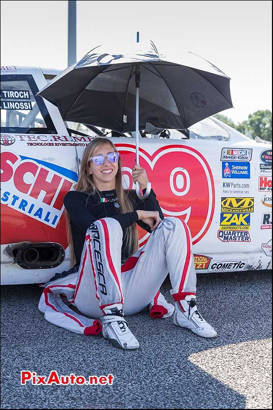 Tours-Motor-Show-2015, Linossi Francesca Lady Cup