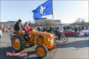 Traversee de Paris 2015, Tracteur Renault Place Invalides