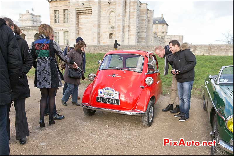 Traversee de Paris 2015, BMW Isetta 300, Vincennes