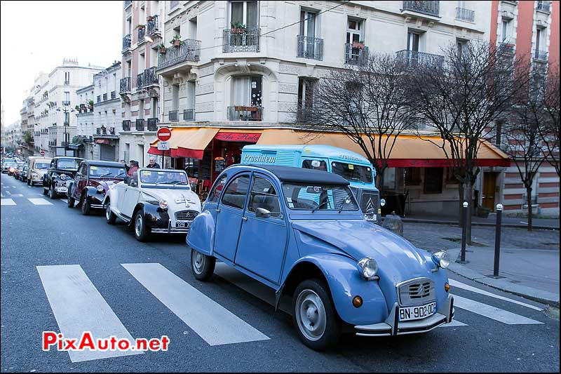 Traversee de Paris, Citroen 2cv