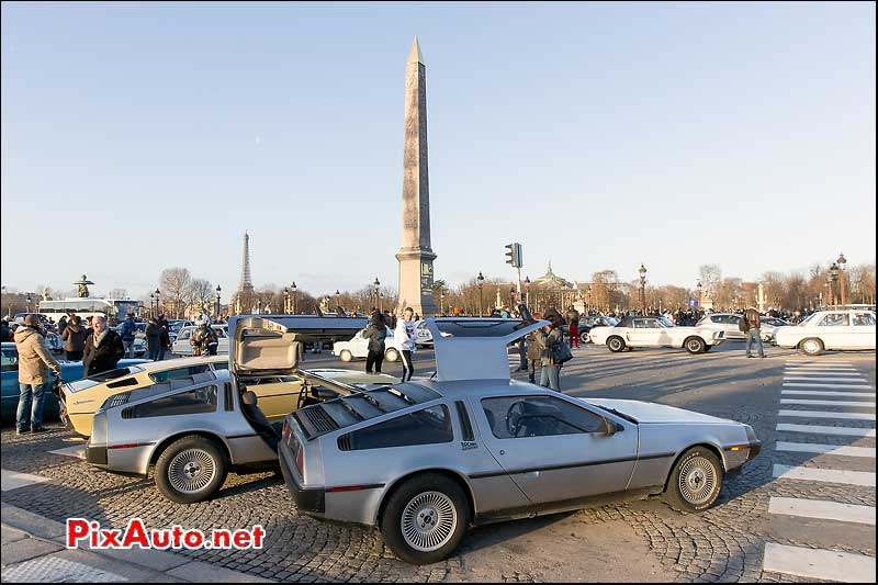 15e Traversee de Paris, Delorean DMC12