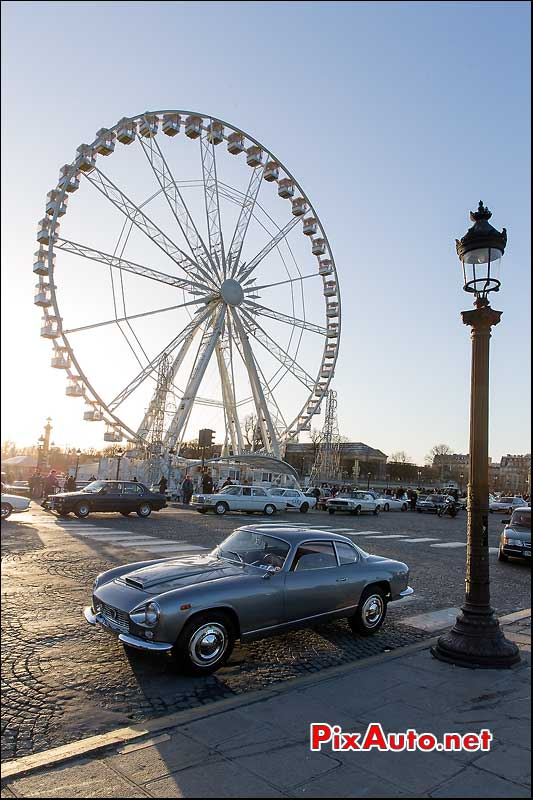 Traversee de Paris 2015, Lancia Flaminia Coupe
