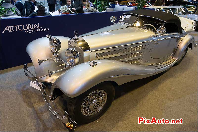 Artcurial Motorcars Retromobile, Mercedes Benz 540k Long Tail