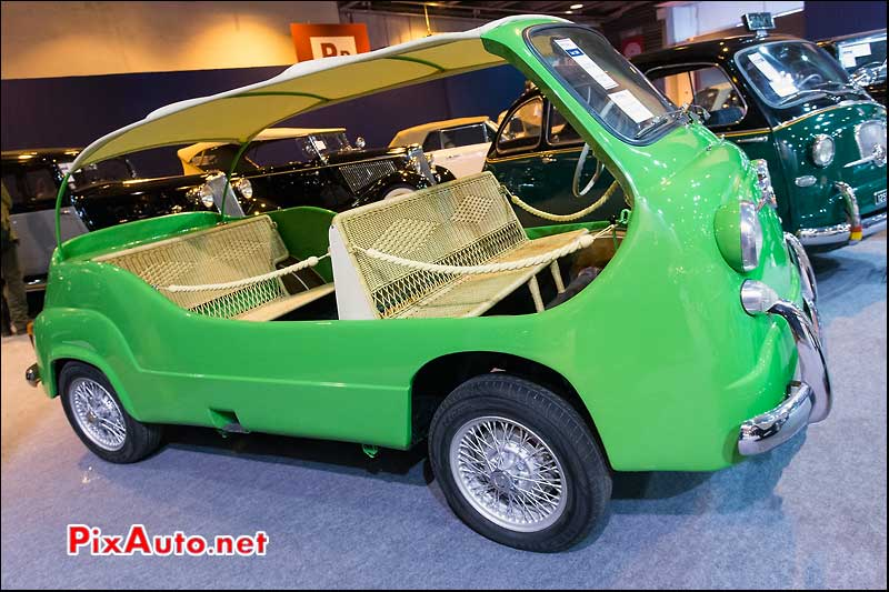 Exposition Vacation Artcurial Motorcars, Moretti Multipla 750 Mare