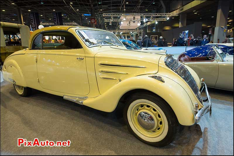 Exposition Vacation Artcurial Motorcars, Peugeot 402 Eclipse 1936