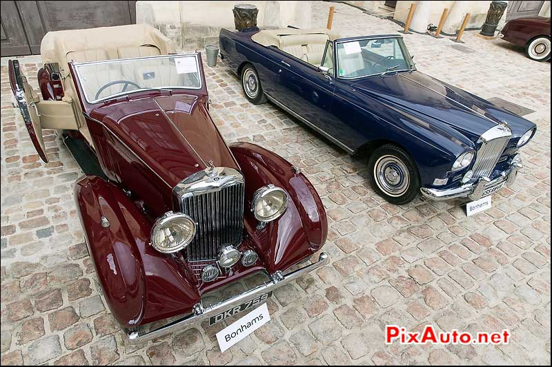 Bonhams a Chantilly, Bentley Cabriolet