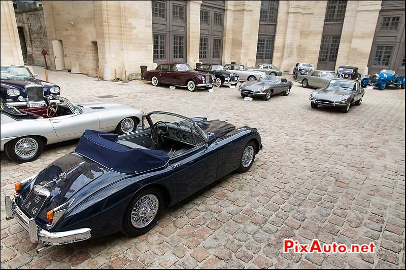 vente Bonhams a Chantilly, Jaguar XK150 Cabriolet