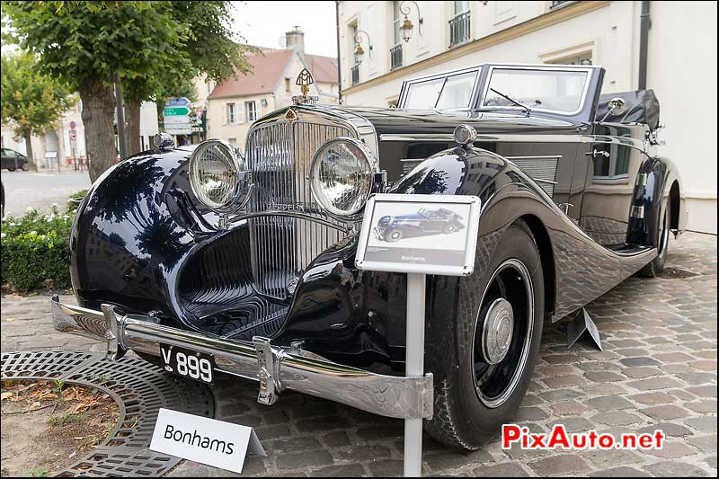 Bonhams A Chantilly, Maybach DS8 Zeppelin Cabriolet 1933