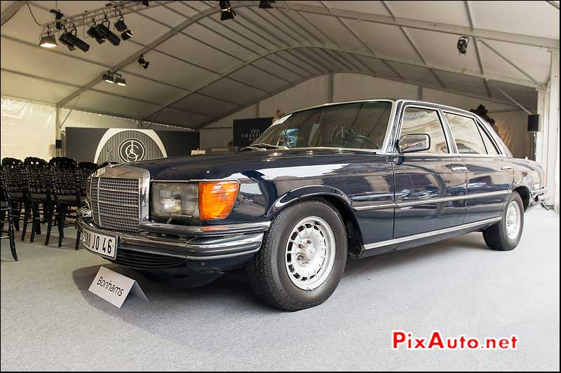 vente Bonhams a Chantilly, Mercedes 450SEL Claude Francois