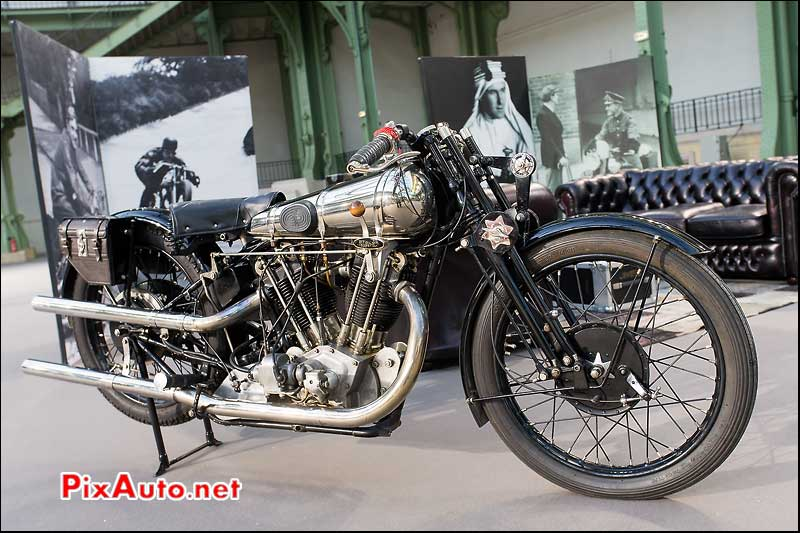 Bonhams Au Grand Palais, Brough Superior SS100 Vintage