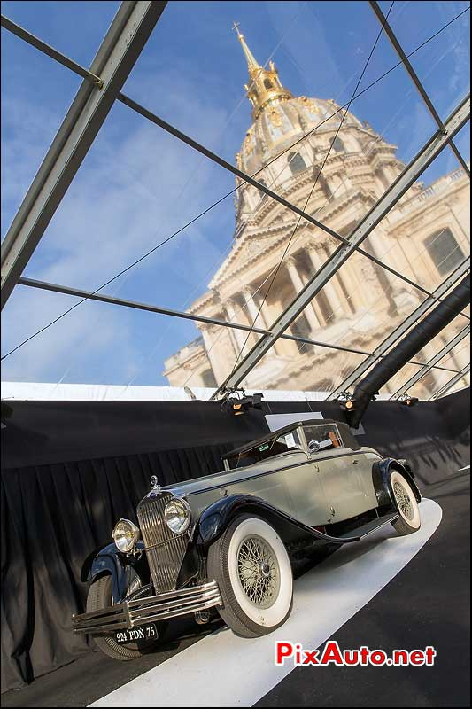 RM Auctions, Delage Drophead Coupe, hotel Invalides