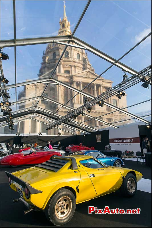 RM Auctions, Lancia Stratos HF Stradale, hotel Invalides