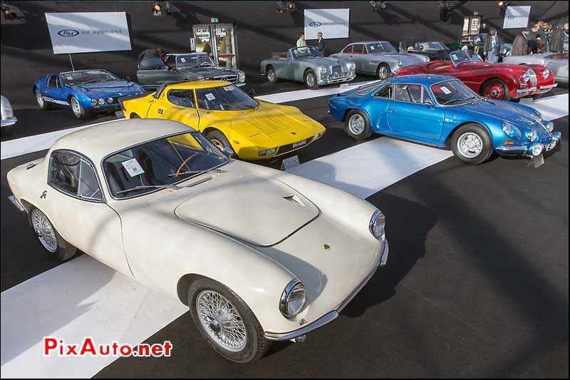 RM Auctions, Lotus Elite, Lancia Stratos, Alpine A110