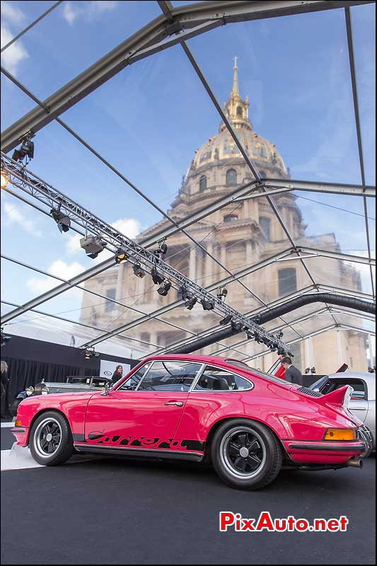 RM Auctions, Porsche 911 Carrera RS, Hotel Invalides