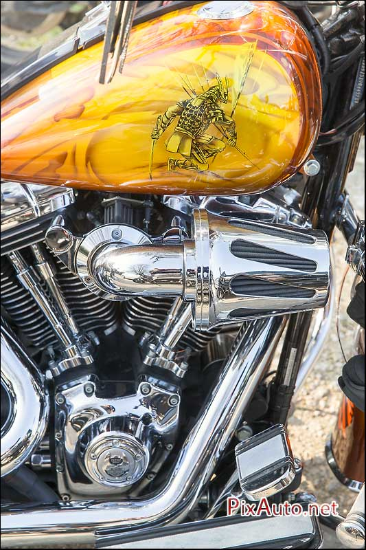 Wings & Rides, Reservoir Custom Harley Davidson