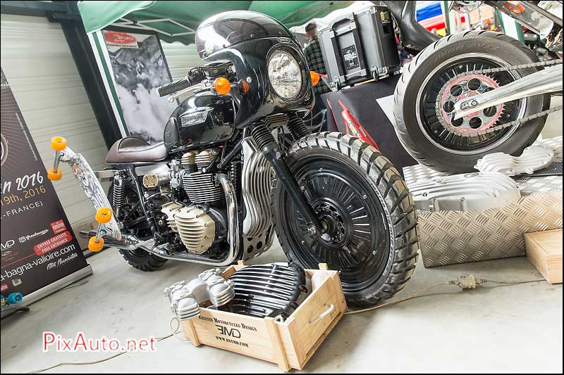 Wings & Rides, Triumph Esteves Motorcycles Design