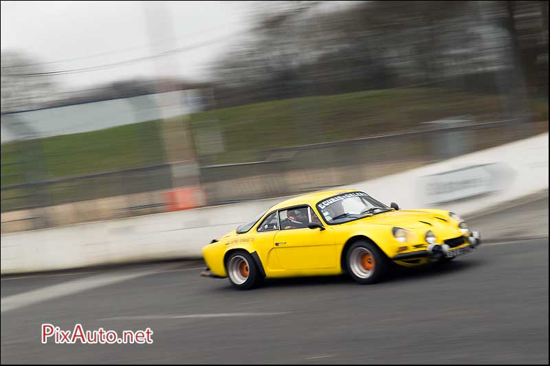 Coupes De Printemps, Alpine Renault A110 Jaune