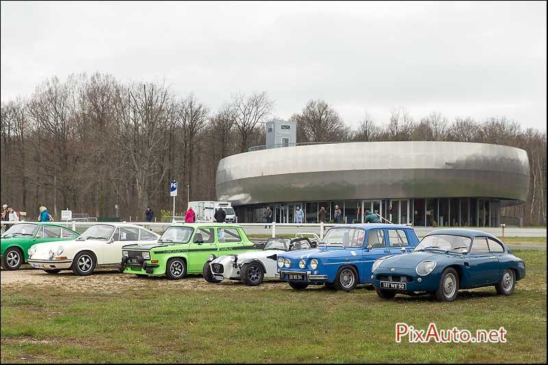 Coupes De Printemps, Parking Visiteurs 2