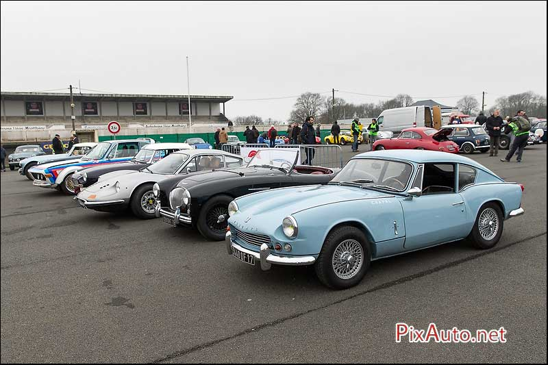 Coupes de Printemps 2016, Triumph GT6