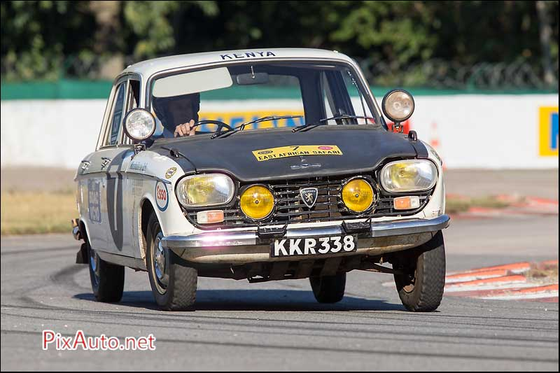 Les-Grandes-Heures-Automobiles, Peugeot 204 KKR338 East African Rally