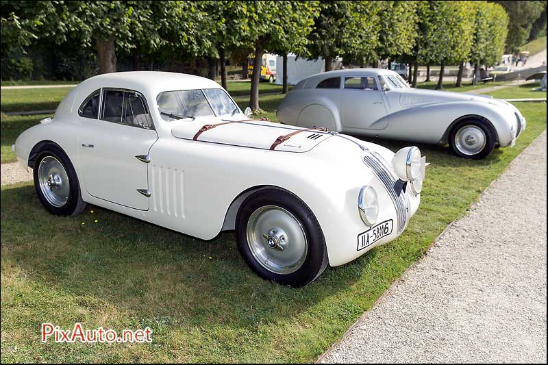 Chantilly Arts & Elegance, BMW 328 Touring Mille Miglia