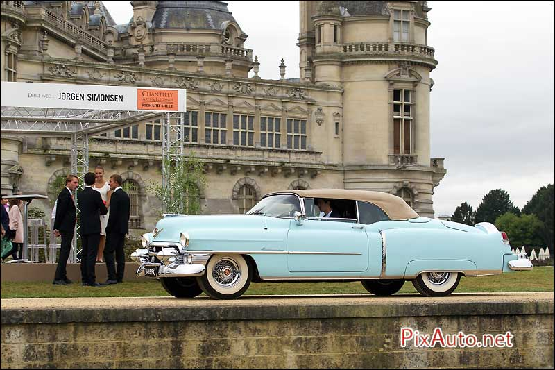 Chantilly-Arts-&-Elegance, Cadillac Convertible