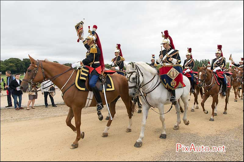 Chantilly-Arts-&-Elegance, Fanfare de la Garde Republicaine
