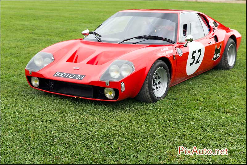 Chantilly-Arts-&-Elegance, Ligier JS1 de 1970