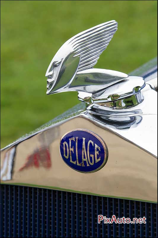 Chantilly-Arts-&-Elegance, Mascotte Voiture Delage
