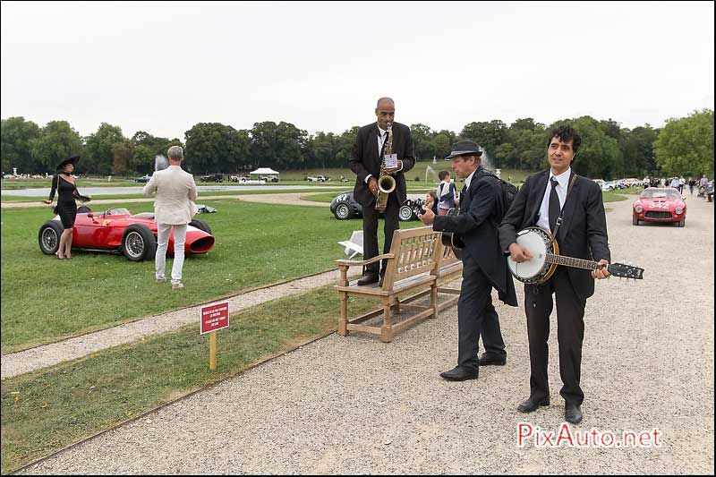Chantilly-Arts-&-Elegance, Musiciens Itinerants