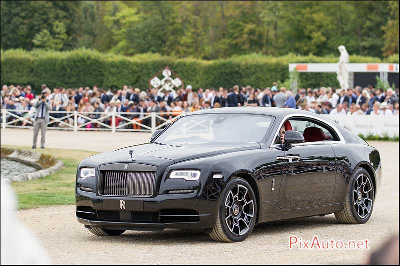 Chantilly-Arts-&-Elegance, Rolls Royce Wraith Black Badge