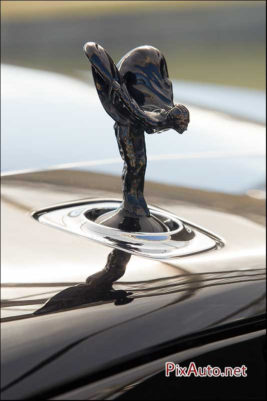 Chantilly-Arts-&-Elegance, Spirit Of Ecstasy Chrome Noir