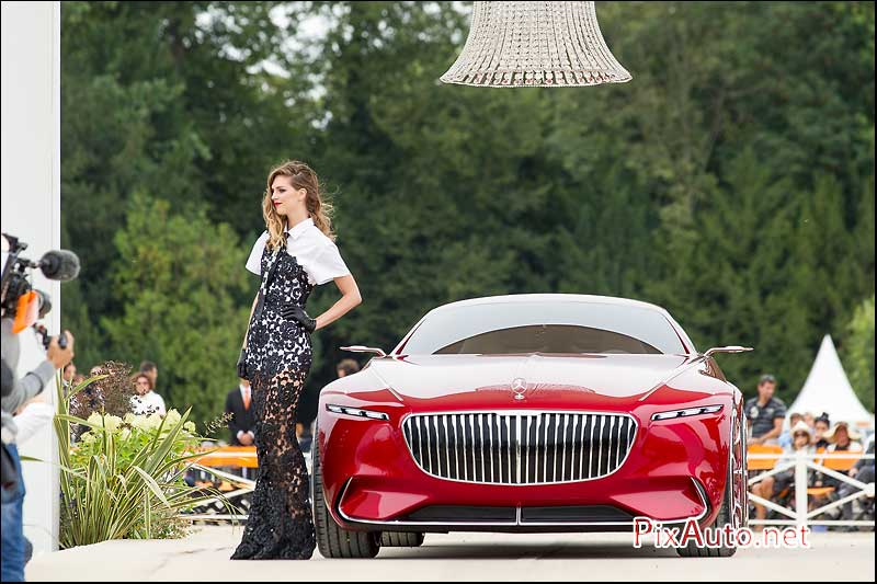 Chantilly-Arts-&-Elegance, Vision Mercedes-Maybach 6 Podium