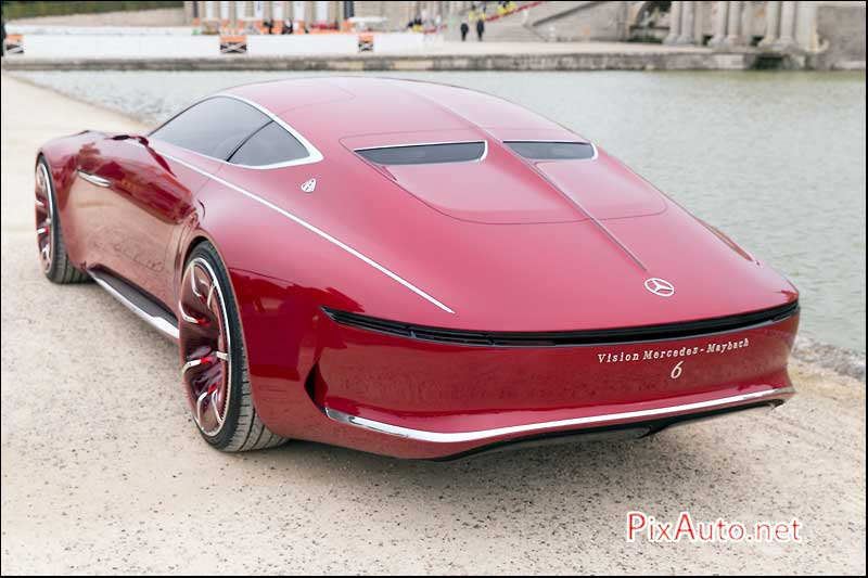 Chantilly-Arts-&-Elegance, Vision Mercedes-Maybach Arriere