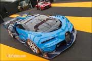 Exposition Concept-Cars Paris, Bugatti Vision et Mazda RX