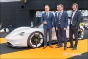 Les Designers du concept Porsche Mission E.