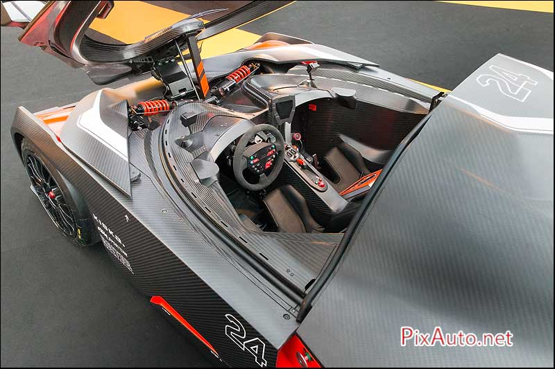Exposition Concept Cars, KTM X-Bow GT4 Habitacle