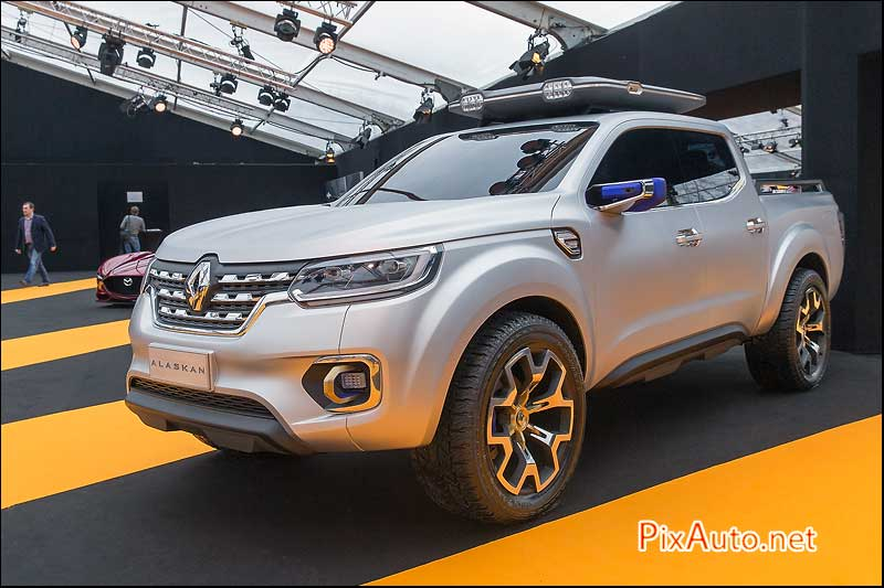 Exposition Concept Cars, Pickup Renault Alaskan