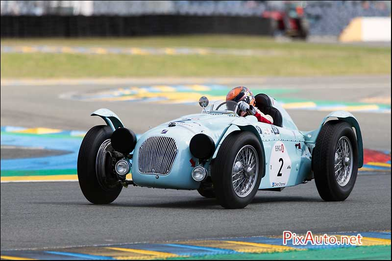 Le-Mans-Classic 2016, Talbo Lago Ex Monoplace Decalee